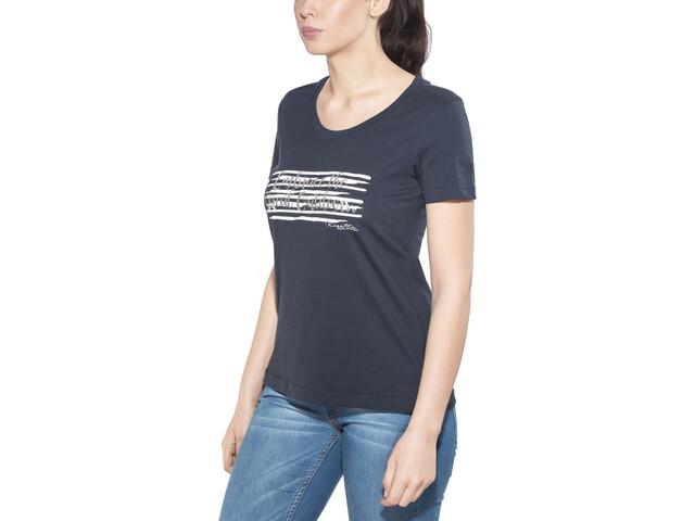 Regatta Filandra II T-Shirt Damen navy/sivler